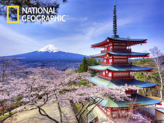 #Остров Хонсю (JAPAN. Mt. Fuji and The Chureito Pagoda)